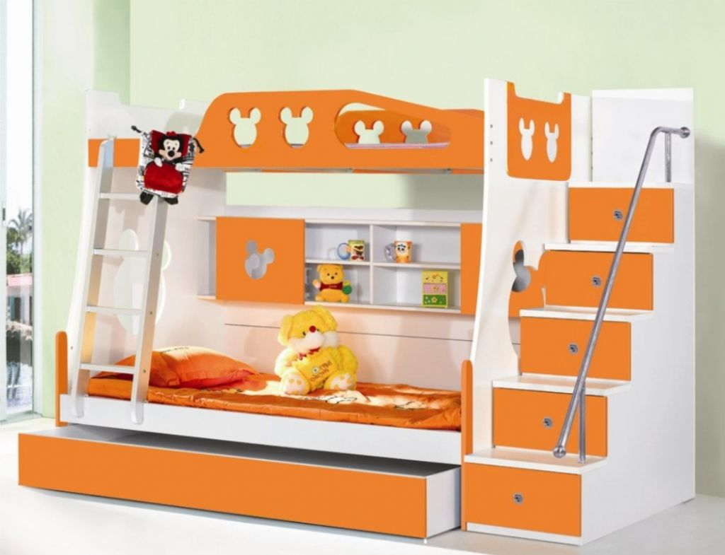 best toddler bunk beds with stairs homesfeed. Black Bedroom Furniture Sets. Home Design Ideas