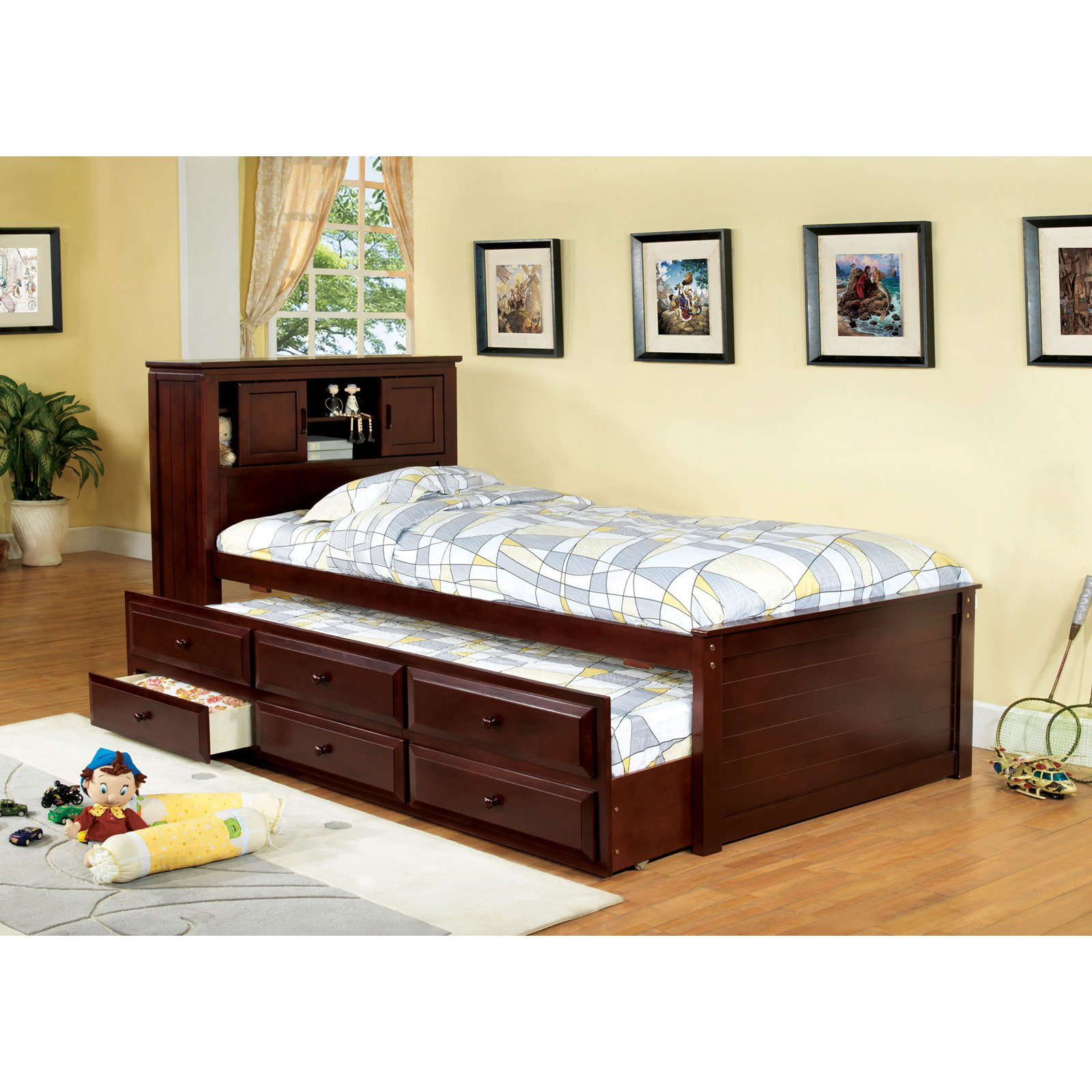 Awesome twin bed with drawers underneath homesfeed for Twin bed frame