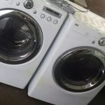Two Used Apartment Size Washer And Dryers