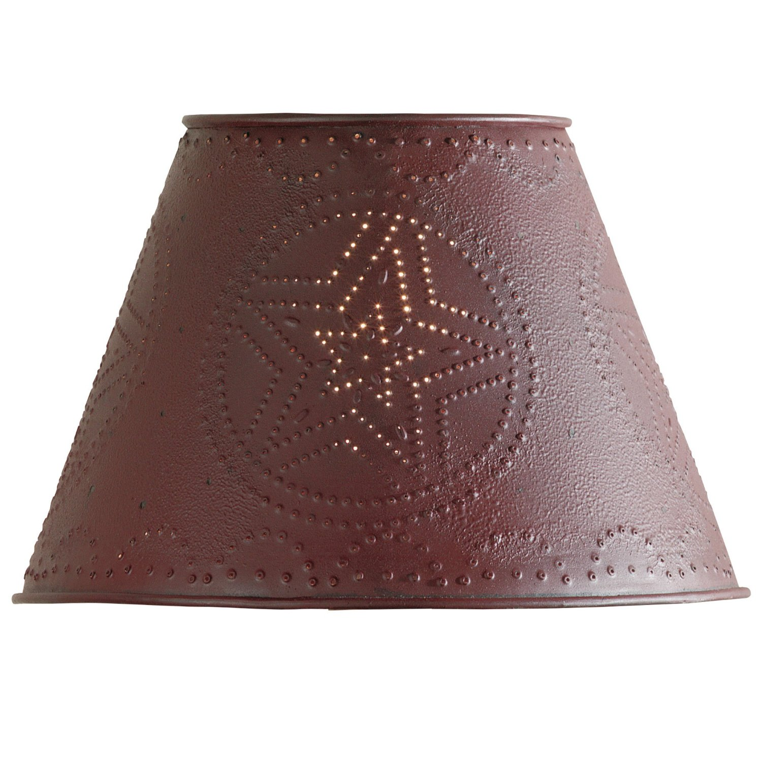 Cool bell shaped lamp shades homesfeed unique star design of bell shaped lamp shades with red color aloadofball Images