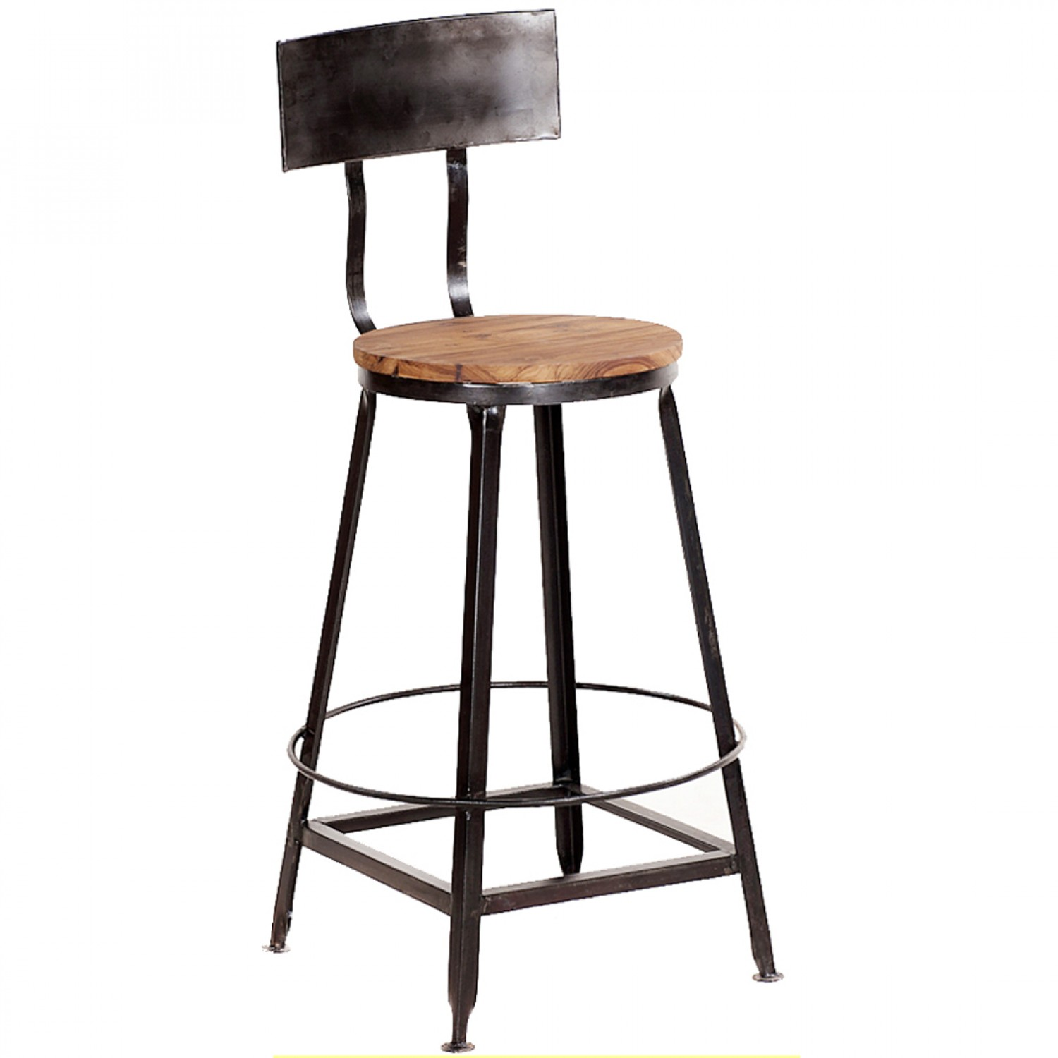 Amazing Vintage Metal Bar Stools HomesFeed : Vintage Metal Bar Stools With Back from homesfeed.com size 1500 x 1500 jpeg 128kB