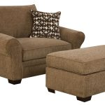 Warm Chairs With Ottomans For Living Room And Small Pretty Pillow