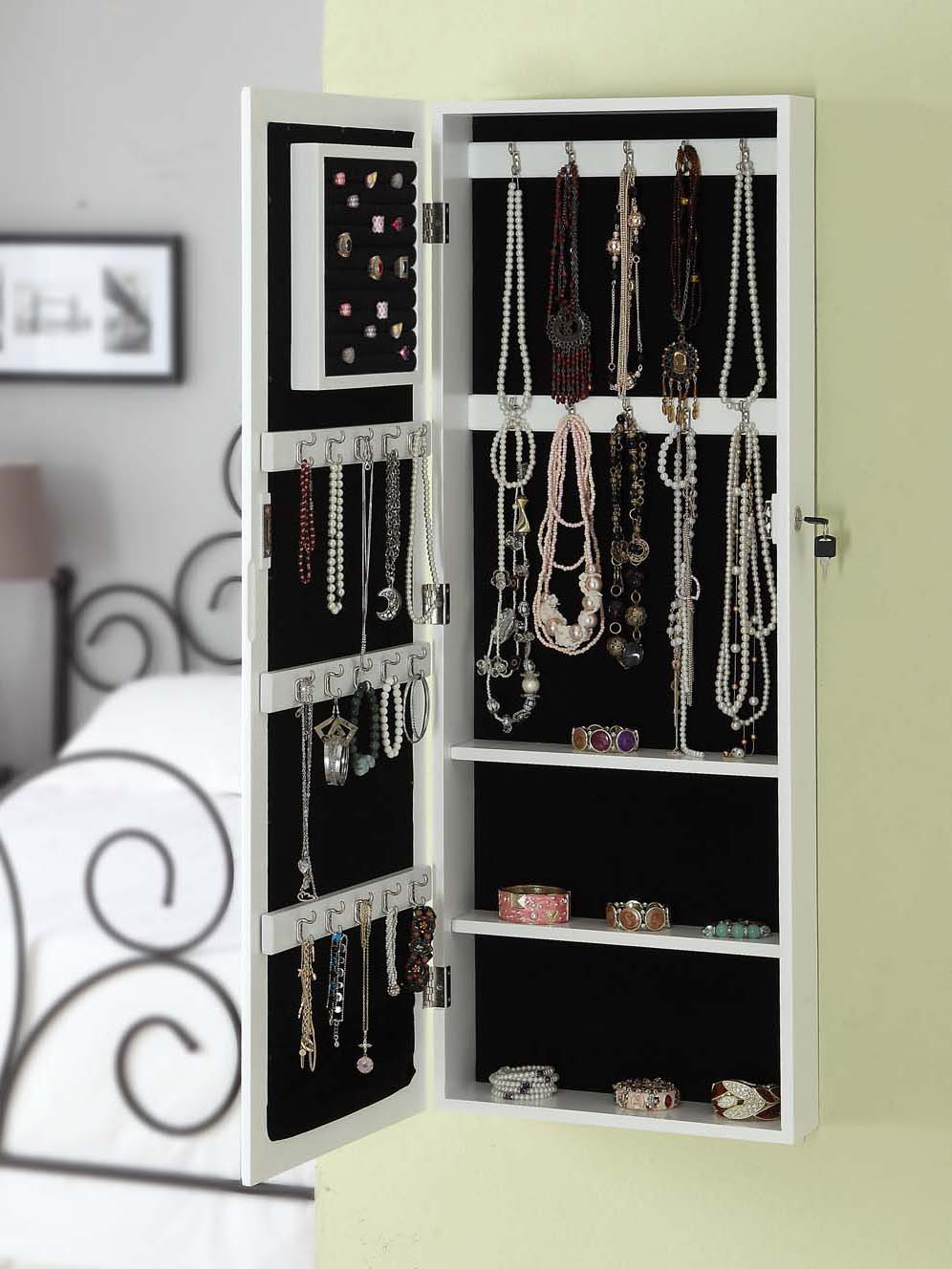 Best Hanging Jewelry Armoire Homesfeed