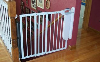 White Child Safety Gates For Stairs And Protection