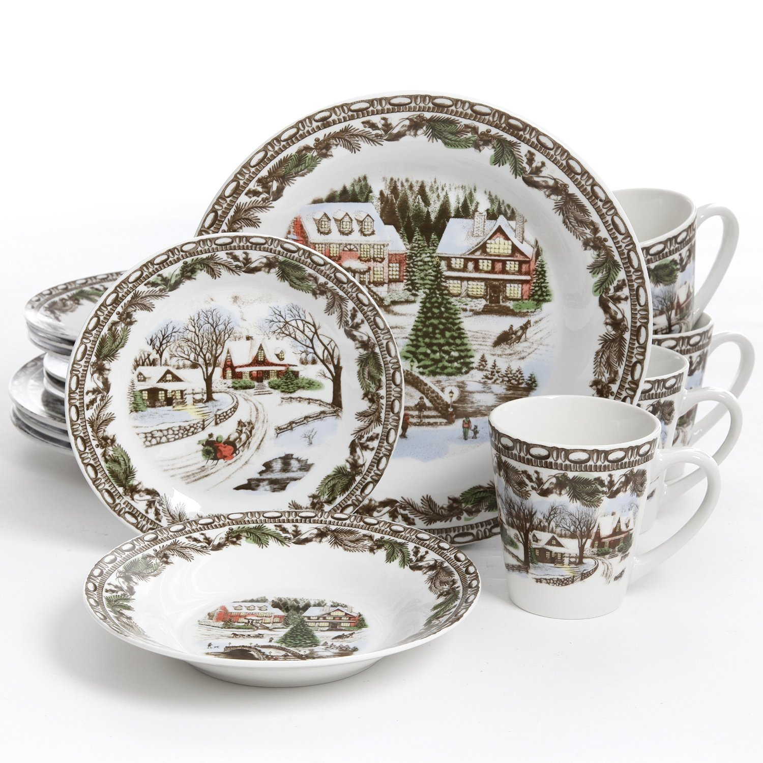 Pretty Thanksgiving Dinnerware Sets Homesfeed  sc 1 st  Castrophotos & Beautiful Dinnerware - Castrophotos