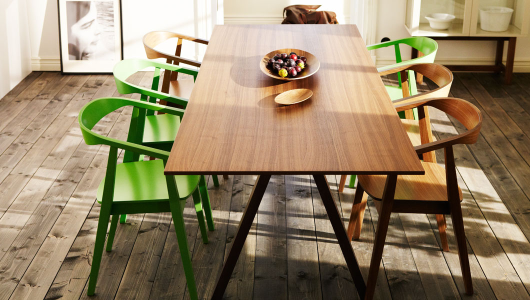Ikea Stockholm Dining Table Wallabys Design