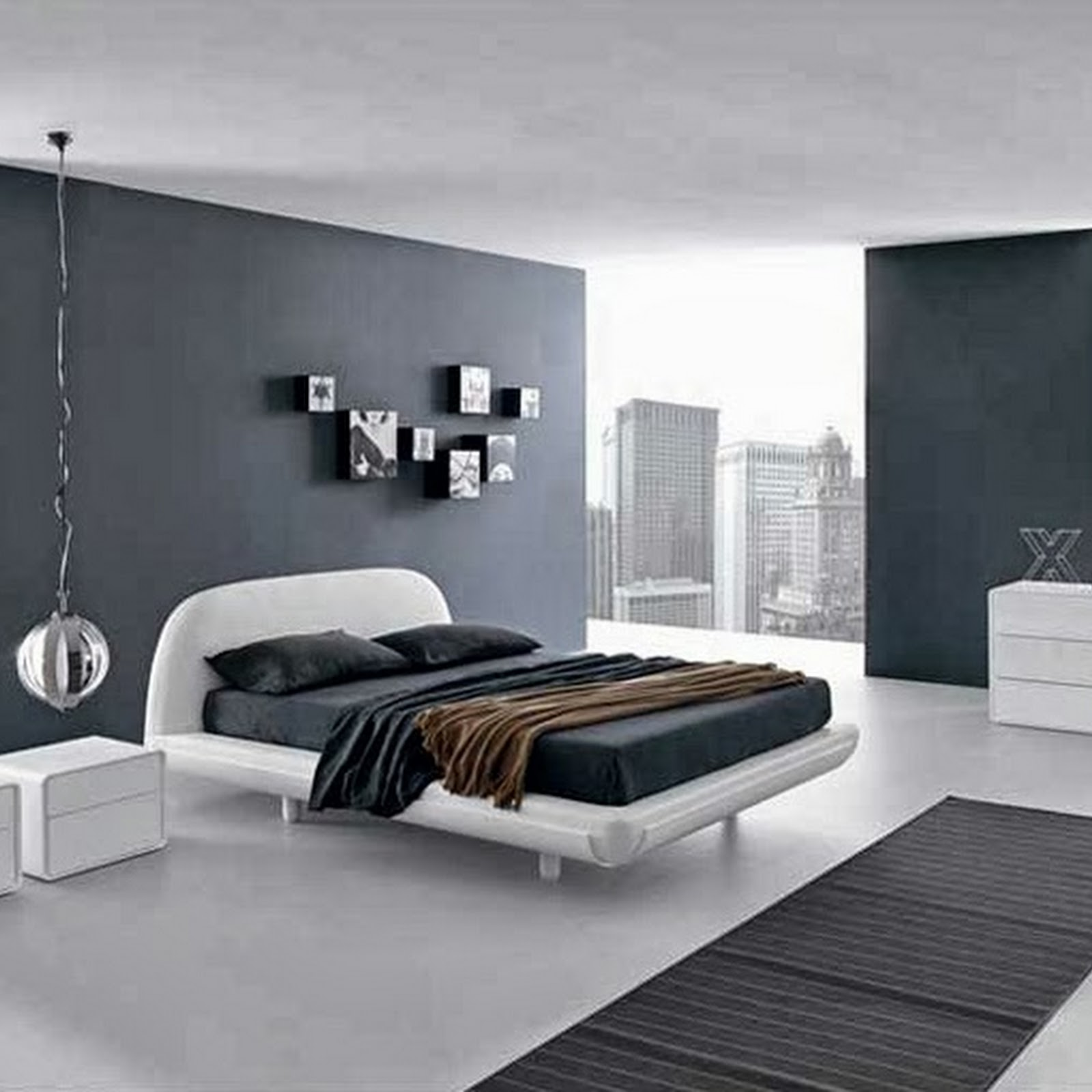 ... Paint Colors For Mens Bedroom Magazine. Bed Pillows Blanket Tables Lamp  Rug Cabinet Wall Accessories