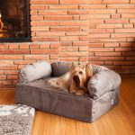 Cozy couch for dog