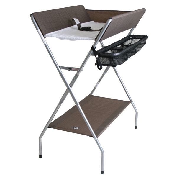 Foldable Changing Table With X Base For Baby