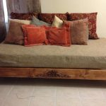 King size Zen platform bed design made of hardwood