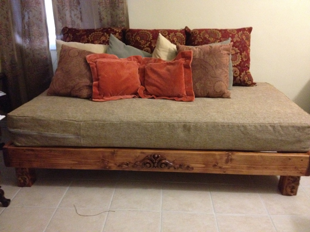 How To Make A King Size Platform Bed Frame