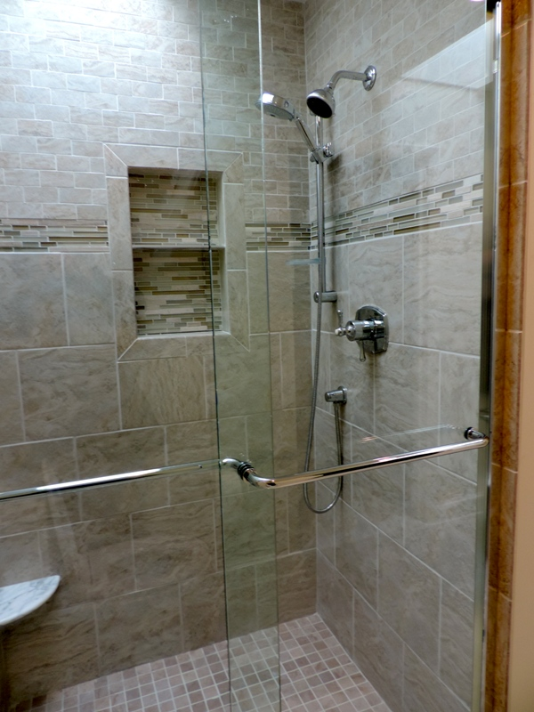 Standup showers item options homesfeed for Standing shower bathroom ideas