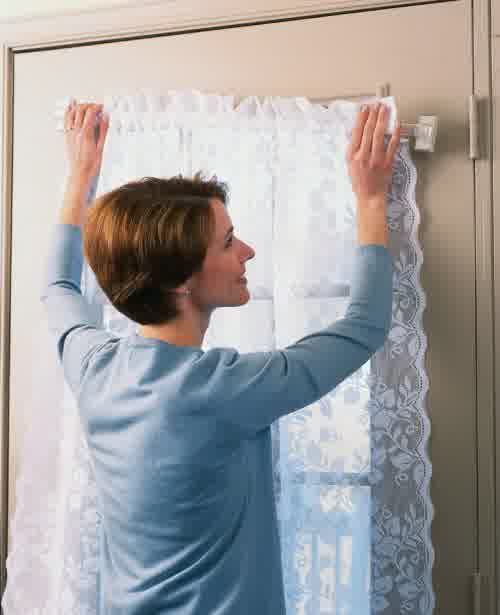 Magnetic Curtain Rods Easy Way To Install Window Curtains