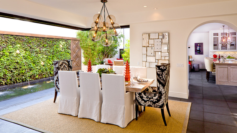 Slipcovered Dining Chairs | HomesFeed