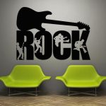 Music themed dining room decor idea