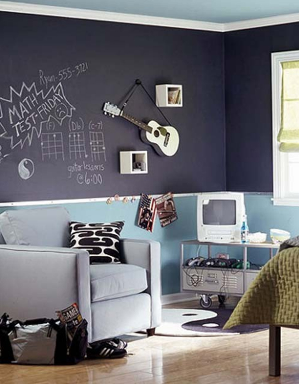 Music themed d cor ideas homesfeed for Art room mural ideas