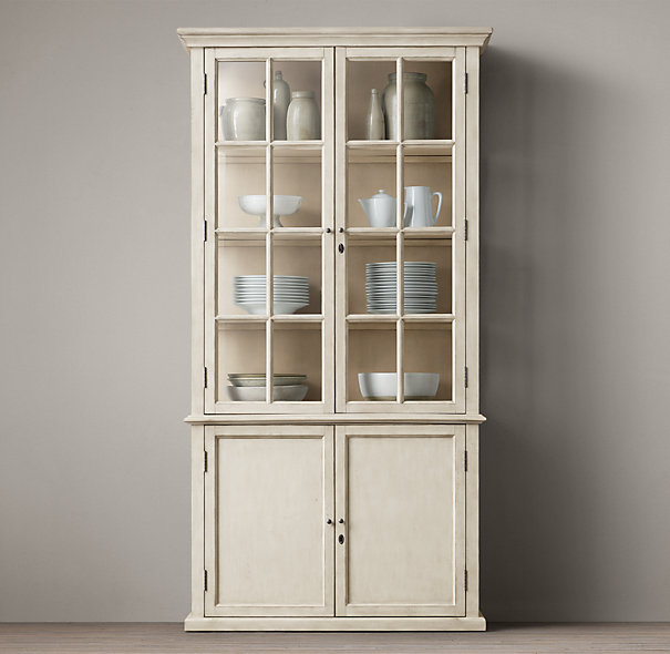 narrow hutch for dining room | Sideboard with Hutch, A Multiple Media Storage | HomesFeed