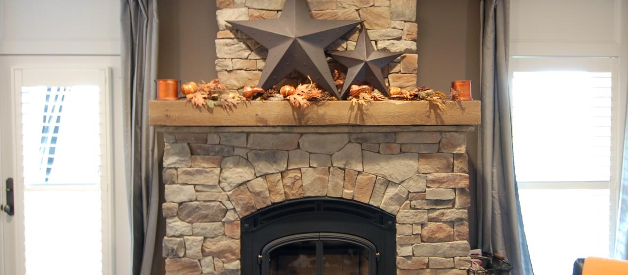 Reclaimed Wood Mantels for A Rustic or Antique Fireplace Look ...