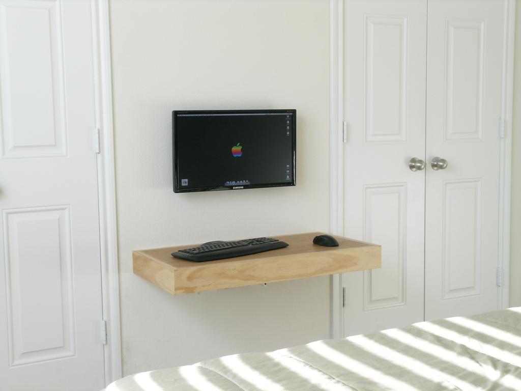 IKEA Floating Desk Selections With Lack Shelf HomesFeed