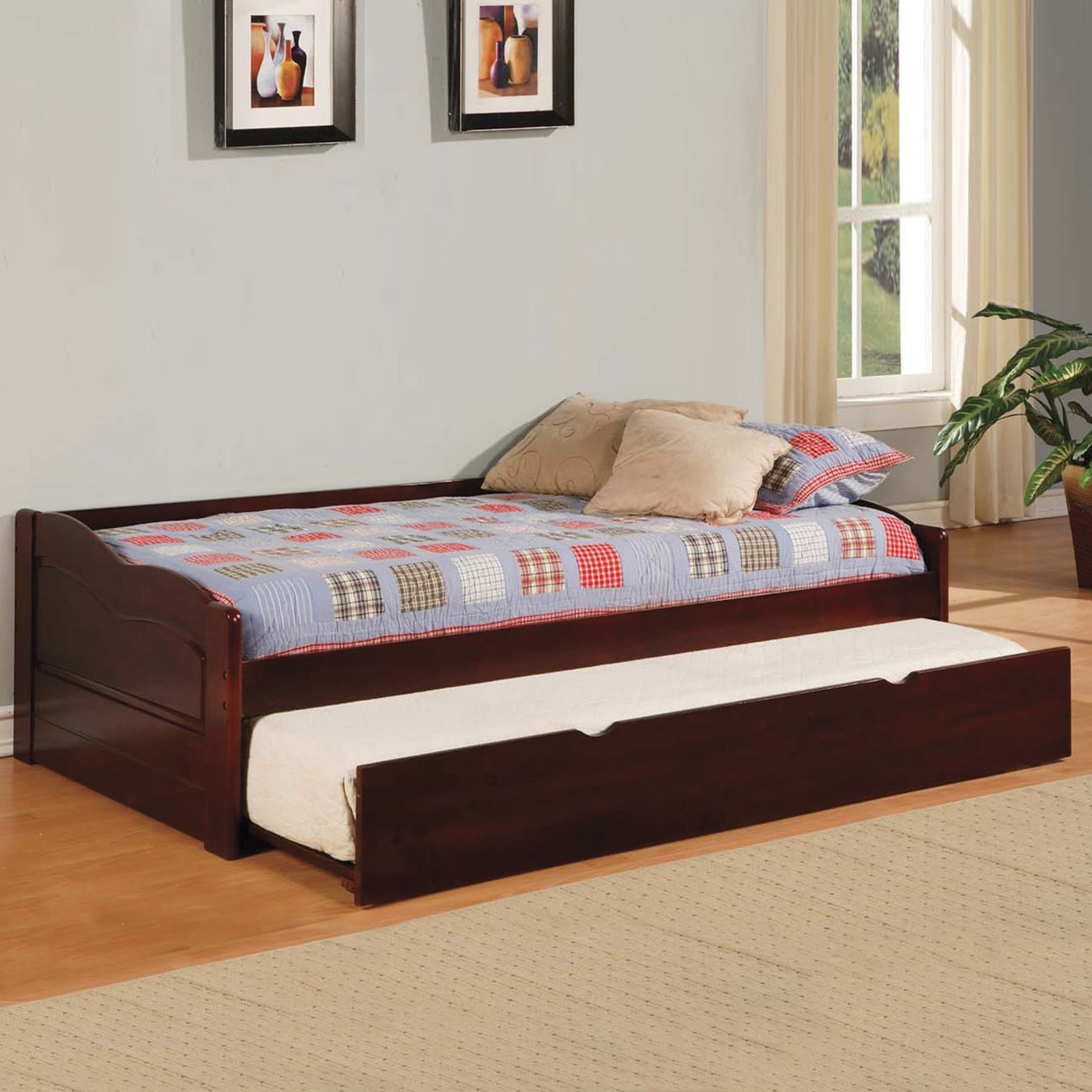 Trundle daybed seaside twin bookcase daybed with trundle Best trundle bed