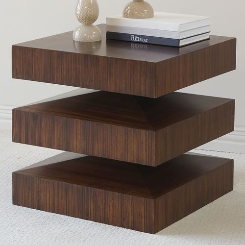 Tall end tables the decorative as well as functional for Unique end tables