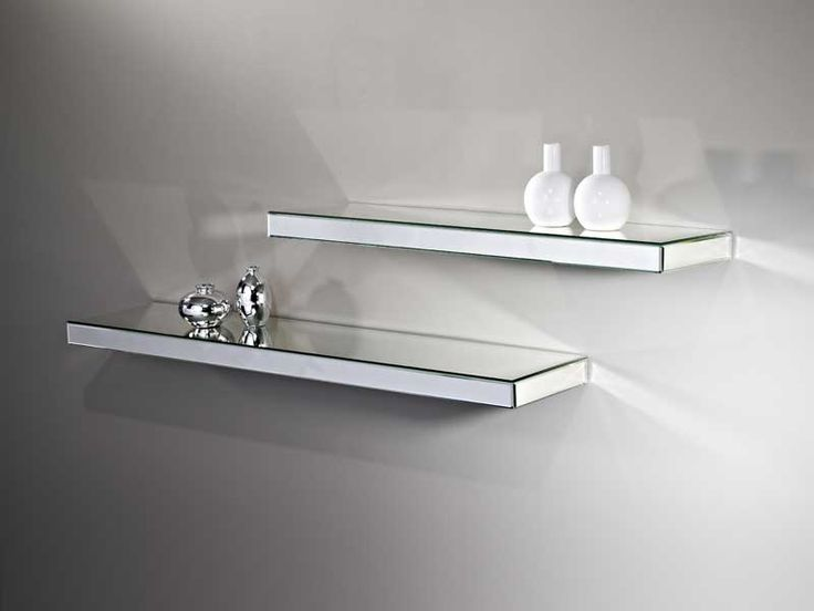 Mirrored Wall Shelf A Smart Way To Add Your Home Interior