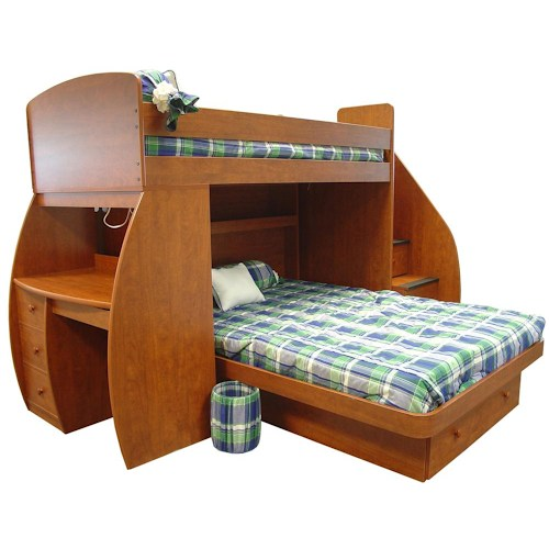 Twin Over Full Bunk Bed With Desk Best Alternative For