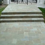 blue stone paving idea for outdoor