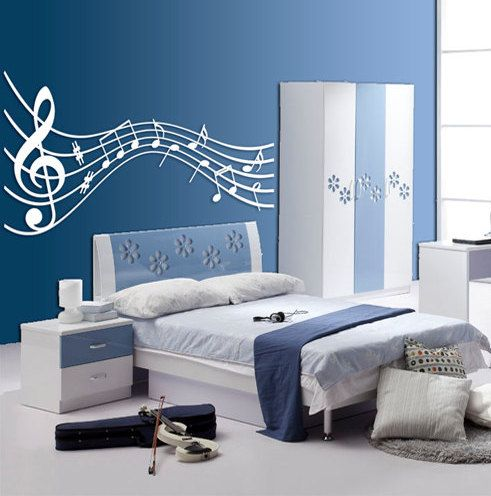 Music themed d cor ideas homesfeed for Room decorating ideas music