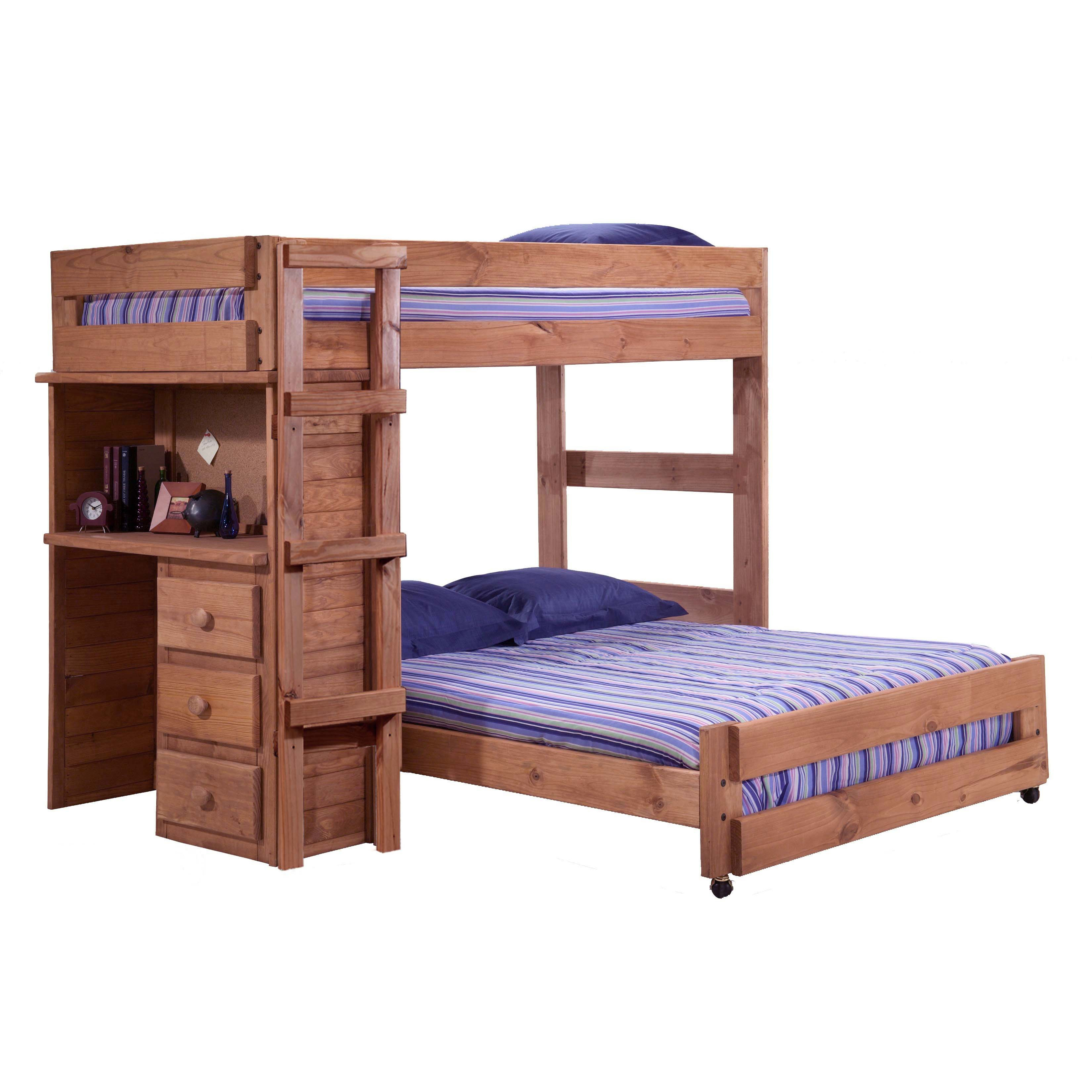 Twin over full bunk bed with desk best alternative for Kids loft bed with desk