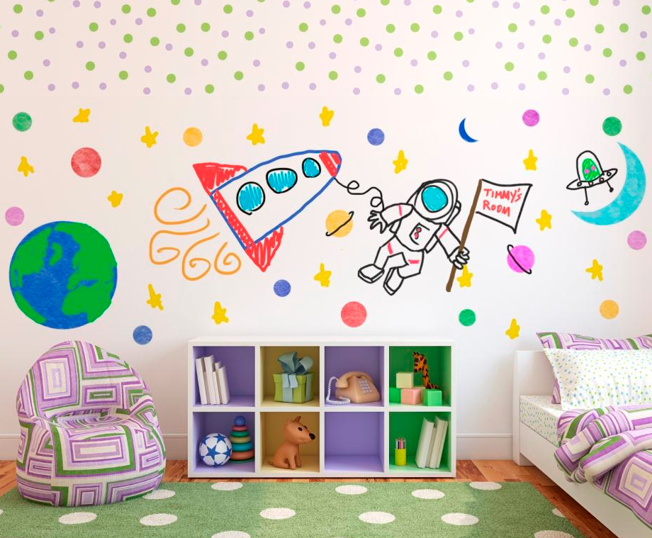 Washable Wall Paint Product Option For Kids' Rooms