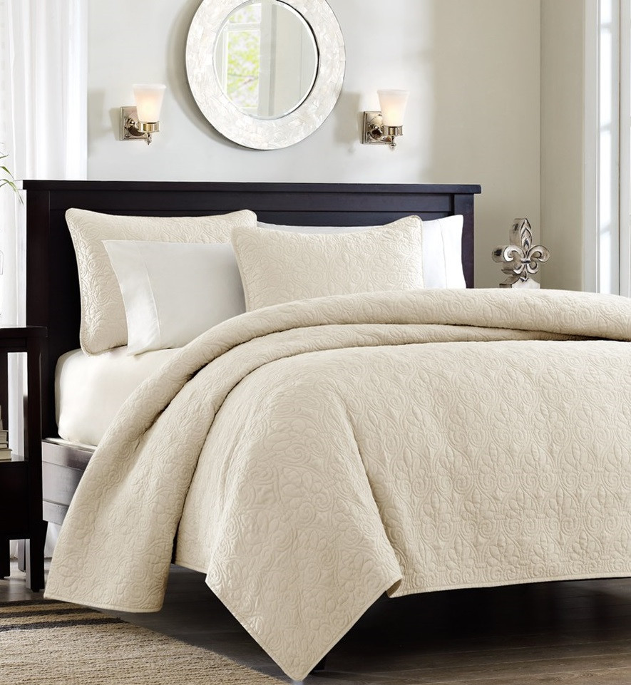 Beige And White Bedding Products For Creating Warm And Elegant Nuance Homesfeed