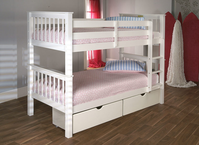 Mesmerizing Bed Platform with Bunk Bed Model for Storage also Minimalist Style for Interior Decoration using Wood Concept for Interior