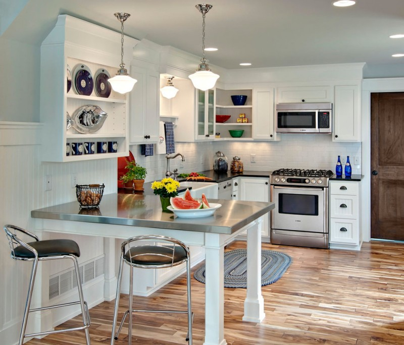Open Oven In Kitchen: 30 Best Small Open Kitchen Designs That Optimize Both