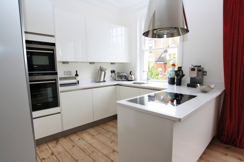Matt Or Glossy White Kitchen