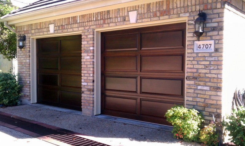 solid wood garage door with best craftmanship and smooth finish