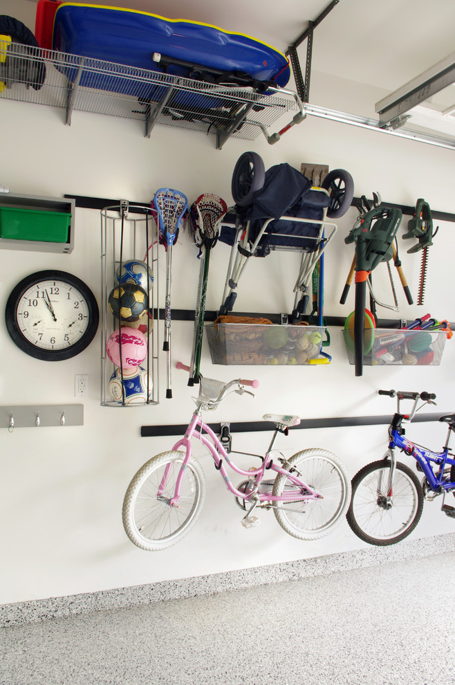 contemporary shed design wall storage solution for bikes and unused things & Creative Bike Rack Ideas for Homes | HomesFeed