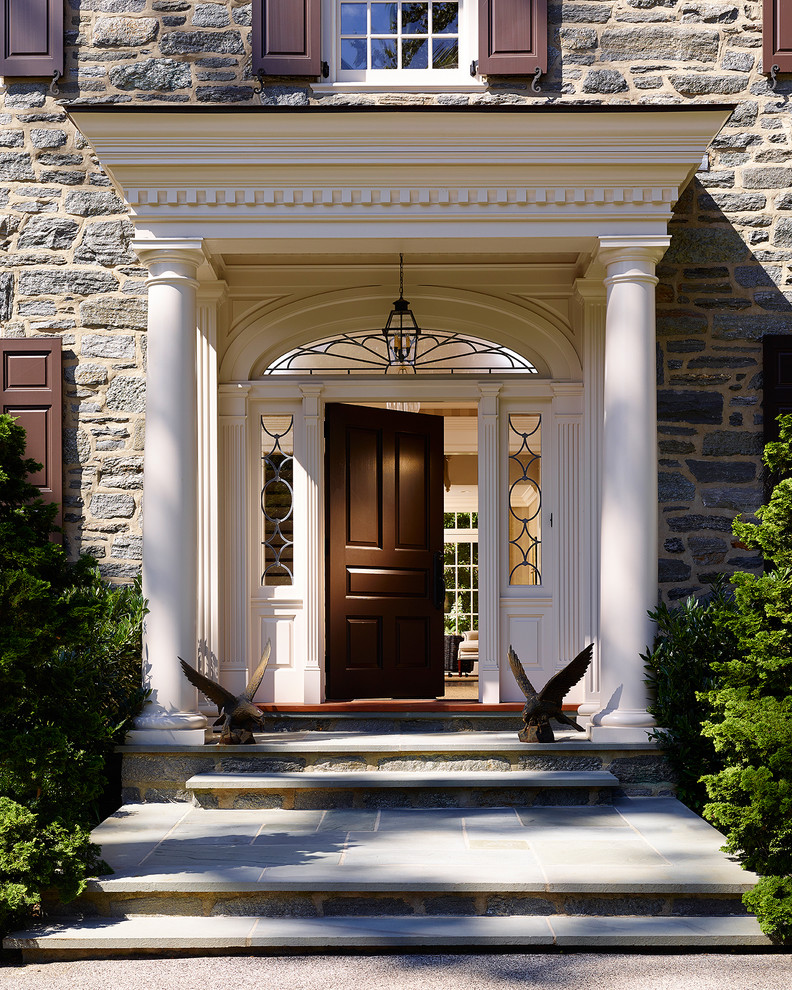 Refresh your entryway with these colonial front door for High end exterior doors