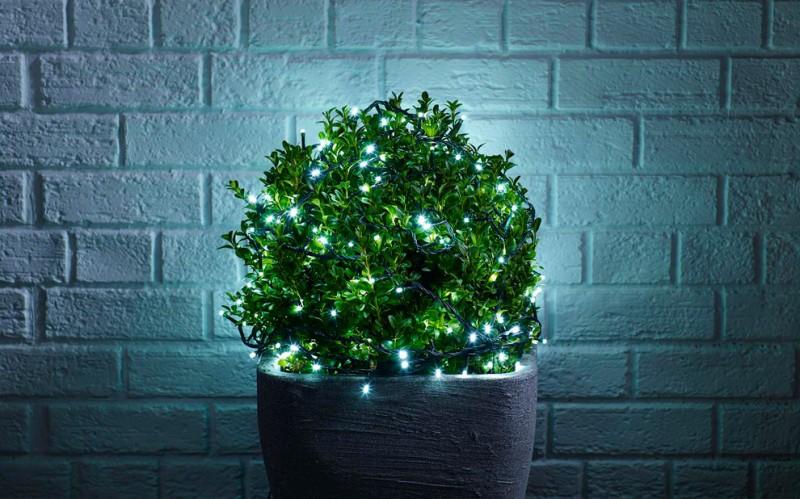 LED bulb strings for greens