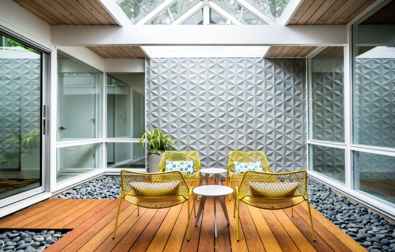 Affordable ideas of midcentury modern house probably fit for Modern yellow houses