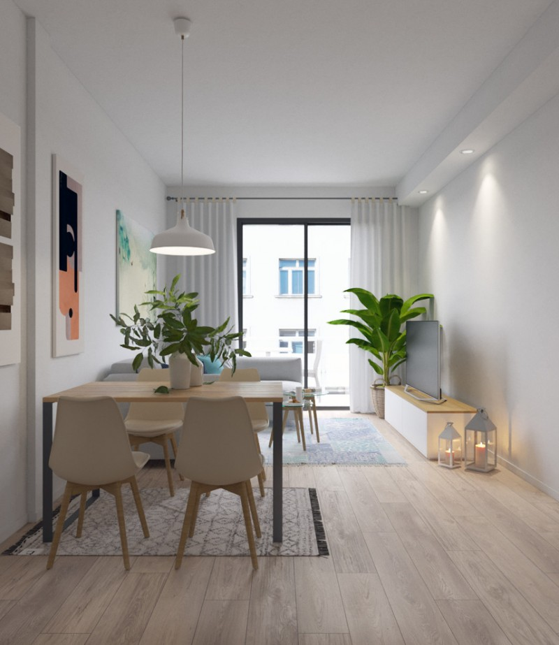 Scandinavian Dining Room: Affordable Ideas Of Midcentury Modern House Probably Fit