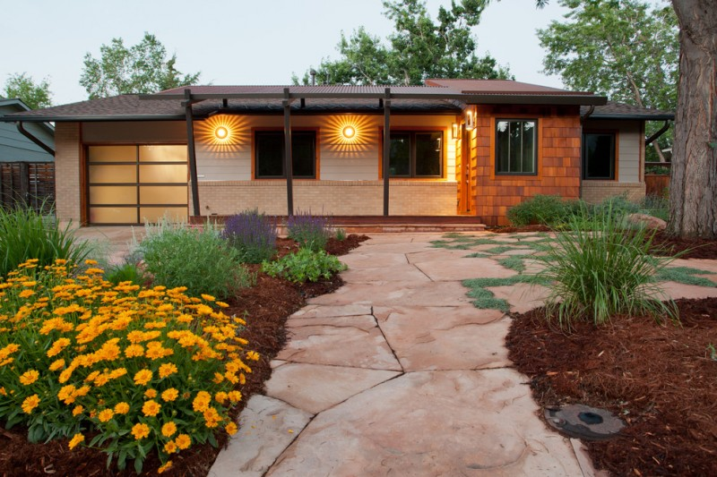 traditional exterior exterior wall lamps with sunrise look glows