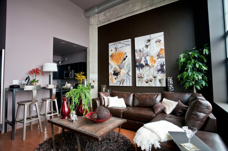 Best Options Of Distressed Brown Leather Sectionals For