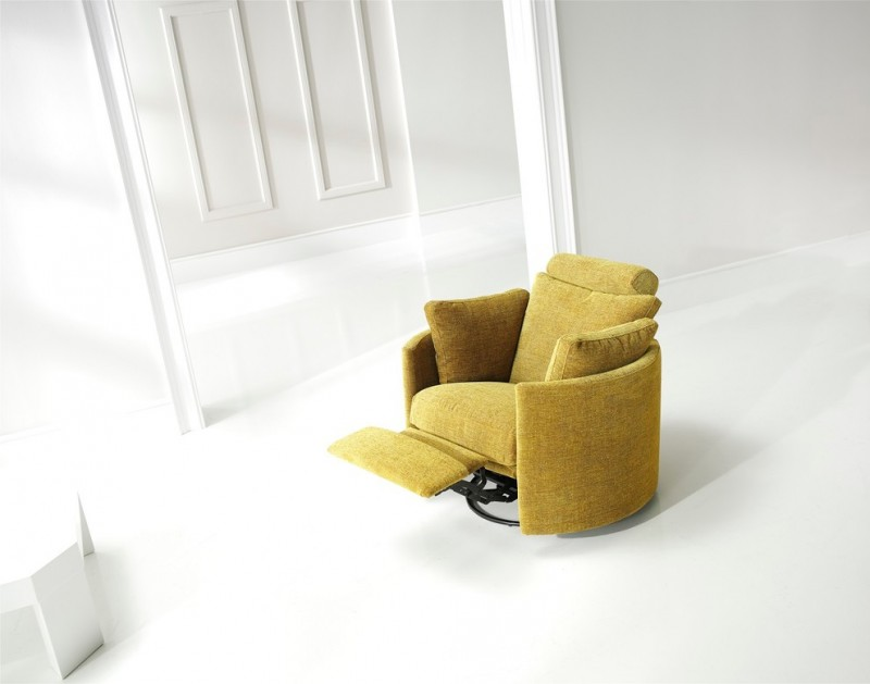 mustard modern recliner chair with feet recliner feature