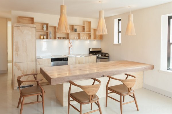 Wall Mounted Table In Large Size Wooden Dining Chairs Light Wood Kitchen Cabinets White Painted Walls