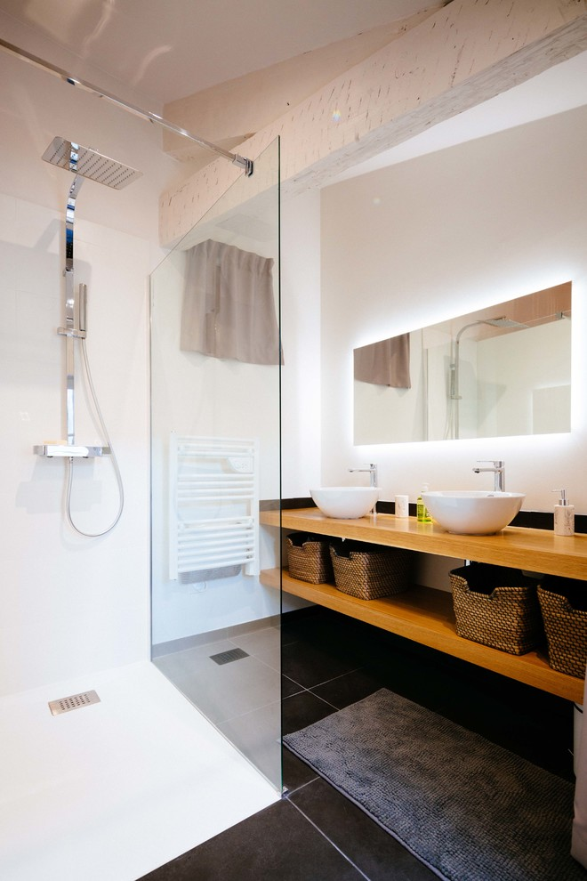 10 Inspiring Designs Of Scandinavian Bathrooms With Black Shade Addition Homesfeed