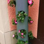 PVC Pipe Planters For Decorative Flowers