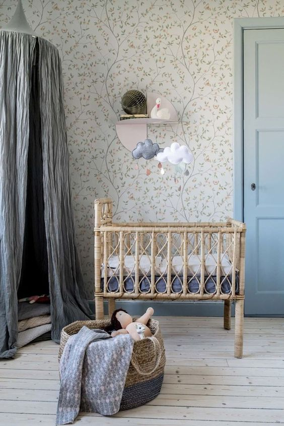Rustic Nursery Room Ideas Aesthetic Amp Characterful Decorating Style With Richness Of Natural