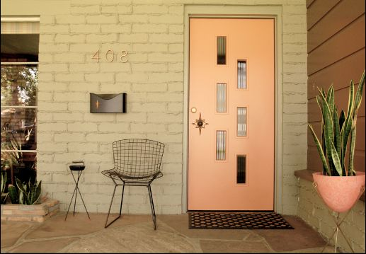 Top Ten Inviting Mid Century Modern Front Door Ideas Homesfeed