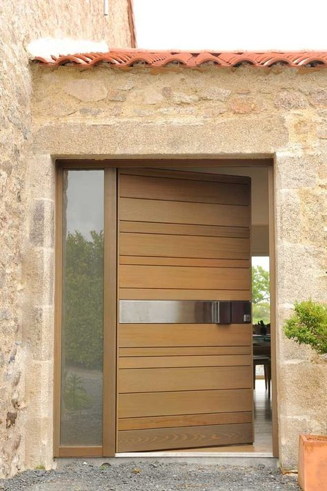 20 Best Modern Door Designs From Wood: Top Ten Inviting Mid Century Modern Front Door Ideas